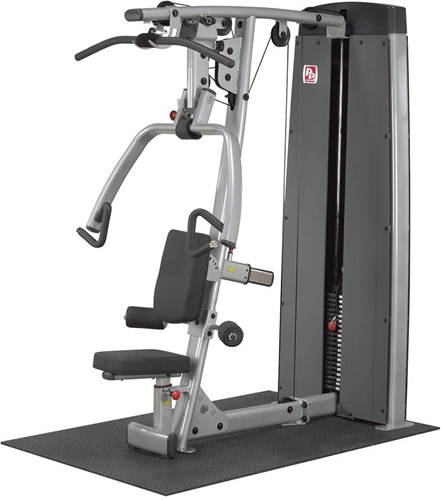 Dual Line Pro Dual Vertical Press & Lat Machine