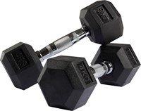 VirtuFit Hexa Dumbell - 4 kg - Per Stuk-3