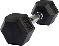VirtuFit Hexa Dumbell - 4 kg - Per Stuk-2