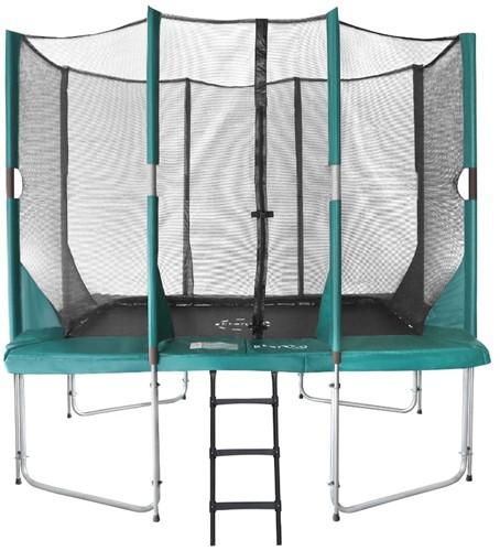 Etan Hi-Flyer Combi Trampoline met Veiligheidsnet - 310 x 232 cm - Groen