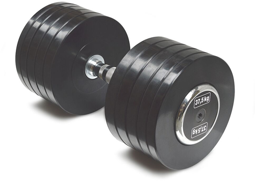 Body-Solid Pro Style Rubber Dumbells - 37.5 kg