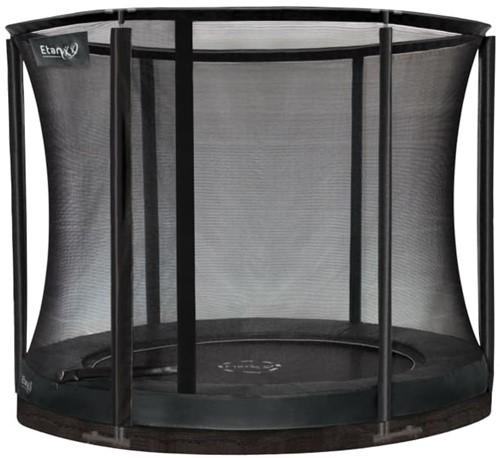 Etan Premium Gold Combi Inground Trampoline met Veiligheidsnet - 305 cm - Grijs