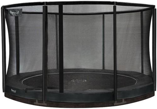 Etan Premium Gold CombiInground Trampoline met Veiligheidsnet - 335 cm - Grijs