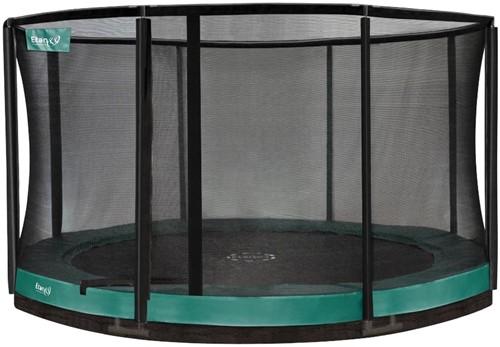 Etan Premium Gold Combi Inground Trampoline met Veiligheidsnet - 366 cm - Groen