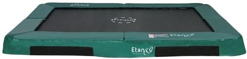 Etan Hi-Flyer Inground Trampoline 310 x 232 cm - Groen