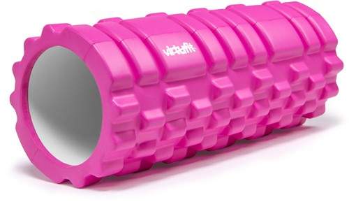 VirtuFit Grid Foam Roller - Massage roller - 33 cm - Roze