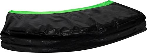 VirtuFit Trampoline Beschermrand - Zwart / Groen - 366 cm