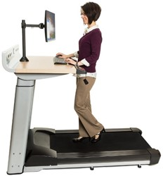 Life Fitness InMovement Treadmill Desk - Gratis montage