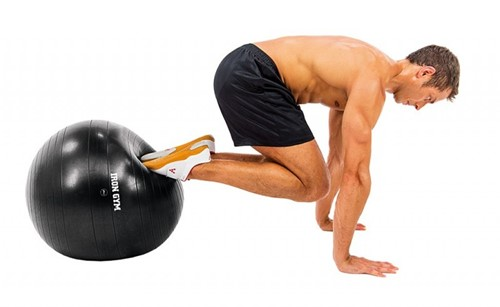 Iron Gym Exercise Ball 65 CM - Met Pomp-3