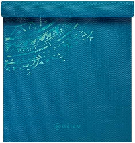 Gaiam Yoga Mat - 4 mm - Jade Mandala