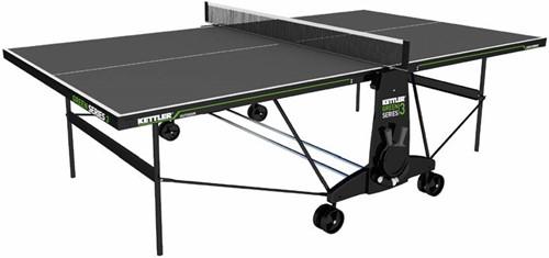 Kettler K3 Indoor Tafeltennistafel - Donkergrijs/Groen