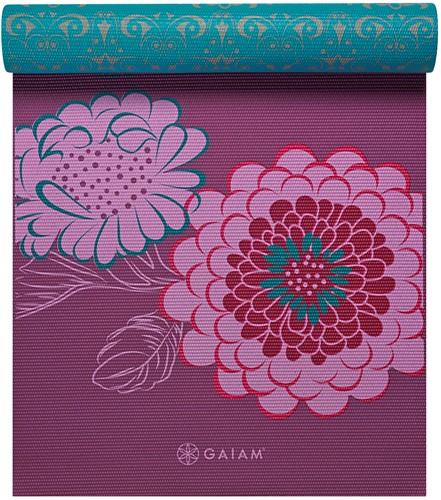 Gaiam Reversible Yoga Mat - 6 mm - Kiku
