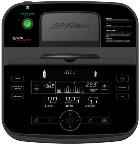 Life Fitness E5 Track Connect  Crosstrainer - Gratis trainingsschema