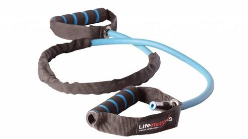 Lifemaxx Power Tube Latex - Blauw - Sterk