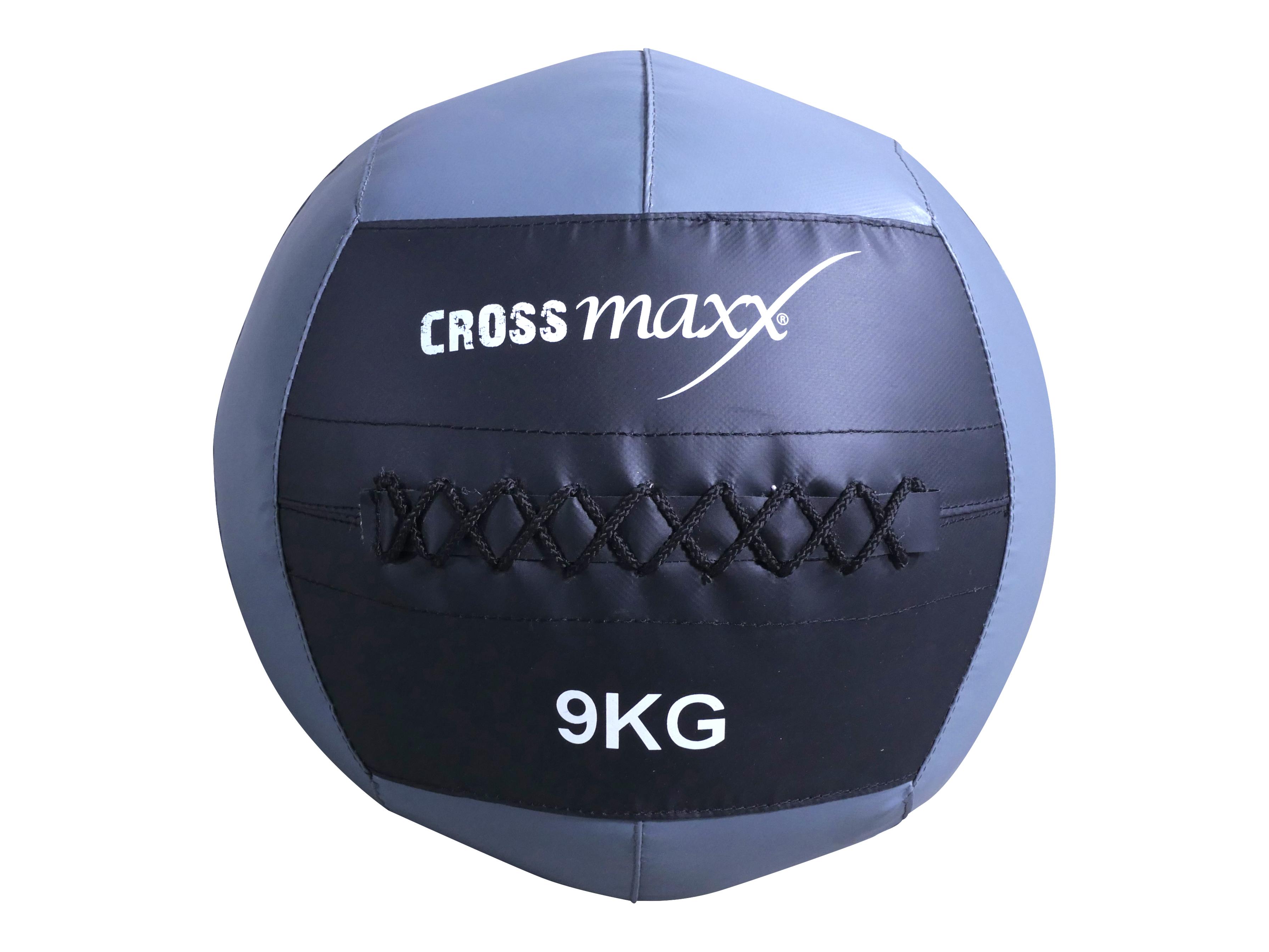 Crossmaxx Wall Ball 9 kg Grey