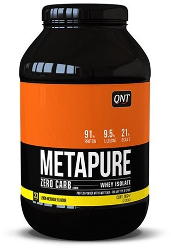 QNT Zero Carb Metapure - 1000g - Lemon Meringue