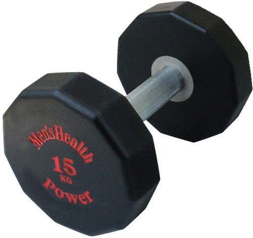 Men's Health PU Dumbbell - 15 kg