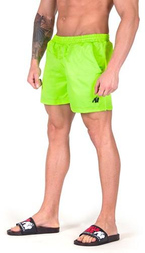 Gorilla Wear Miami Shorts - Neon Groen