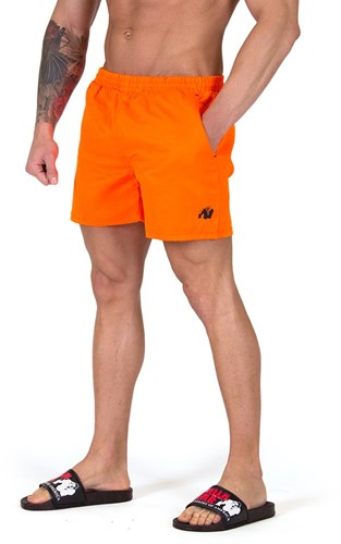 Gorilla Wear Miami Shorts - Neon Oranje