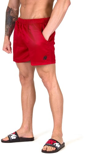 Gorilla Wear Miami Shorts - Rood