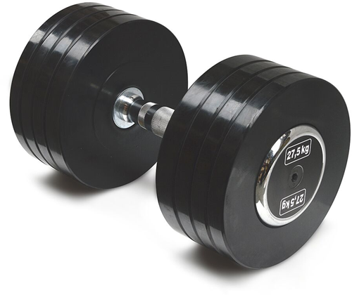 Body-Solid Pro Style Rubber Dumbells - 27.5 kg