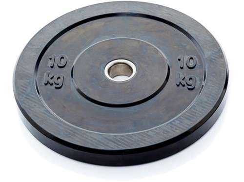 Muscle Power Olympische Bumper Plate Halterschijf - 50 mm - 10 kg