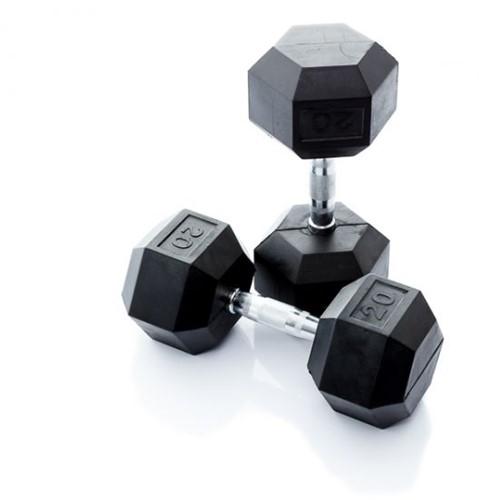 Muscle Power Hexa Dumbell - 20 kg - Per Stuk