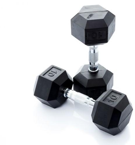 Muscle Power Hexa Dumbbell - 10 kg - Per Stuk