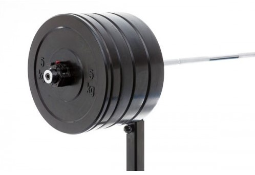 Muscle Power Olympische Bumper Plates Halterset 150kg
