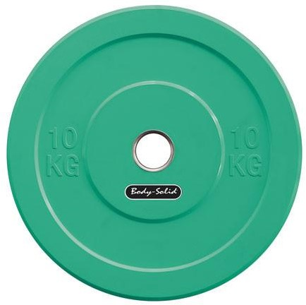 Body-Solid Olympic Bumper Plate - 10 kg
