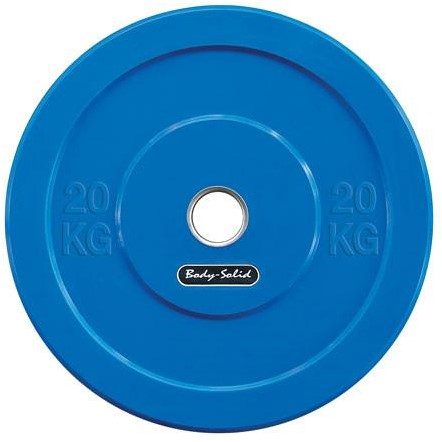 Body-Solid Olympic Bumper Plate - 20 kg