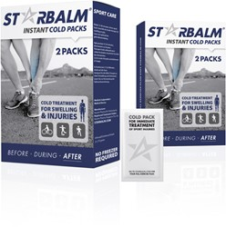 STARBALM Fast Cold Pack 2 pc