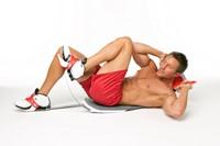 Perfect Fitness Perfect Sit Up Buikspiertrainer met work-out plan, voedingsgids en opbergsysteem
