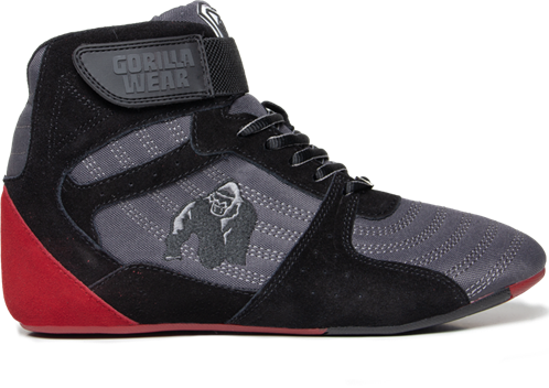 Gorilla Wear Perry High Tops Pro - Grijs/Zwart/Rood
