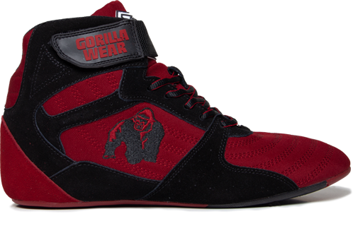 Gorilla Wear Perry High Tops Pro - Rood/Zwart