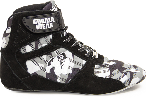 Gorilla Wear Perry High Tops Pro - Zwart/Grijs Camo