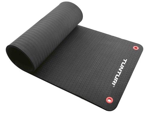 Tunturi Fitnessmat Pro 180 x 60 cm zwart