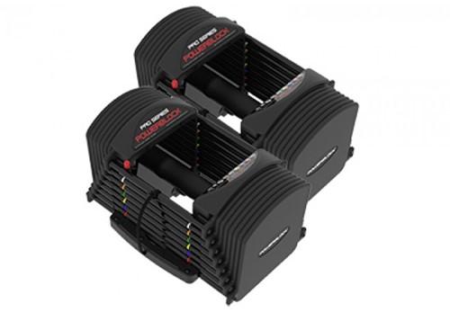 PowerBlock PRO 50 Verstelbare Dumbbell Set - 1 - 23 kg - Tweedekans