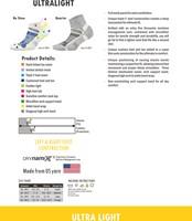 Balega Ultralight Sportsok Zwart/Groen-3