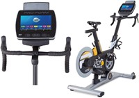 proform tour de france spinbike 5.0 met display
