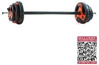 Gymstick Pump Set 20 kg met Trainingsvideo