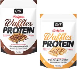 QNT Belgische Proteine Wafel Mix - 480 gram
