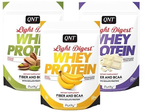 QNT Purity Line Light Digest Whey Protein - 500 gram