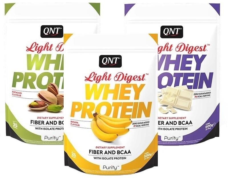 QNT Light Digest Whey Protein Cuberdon 500 gr