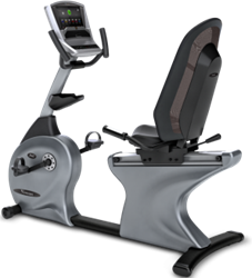 Vision Fitness R40i Touch Ligfiets
