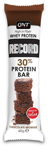 QNT Record Bars 15x60g - Chocolate Brownie