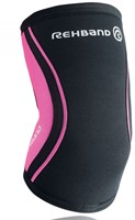 Rehband Elbow Support RX 5MM Black/Pink