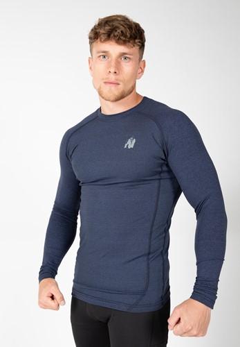 Gorilla Wear Rentz Longsleeve - Marineblauw