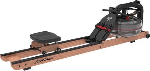 Life Fitness Row HX Light Wood Roeitrainer - Gratis trainingsschema - Gebruikt
