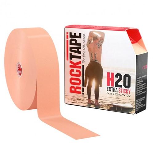 RockTape H20 Kinesiotape - Sporttape - 5 cm x 32 m - Beige